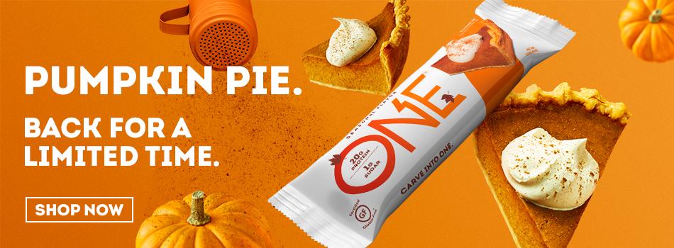 One Bar Pumpkin Pie